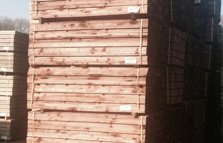 feather edge timber